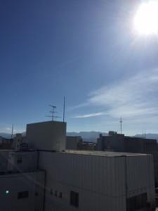 松山の空②